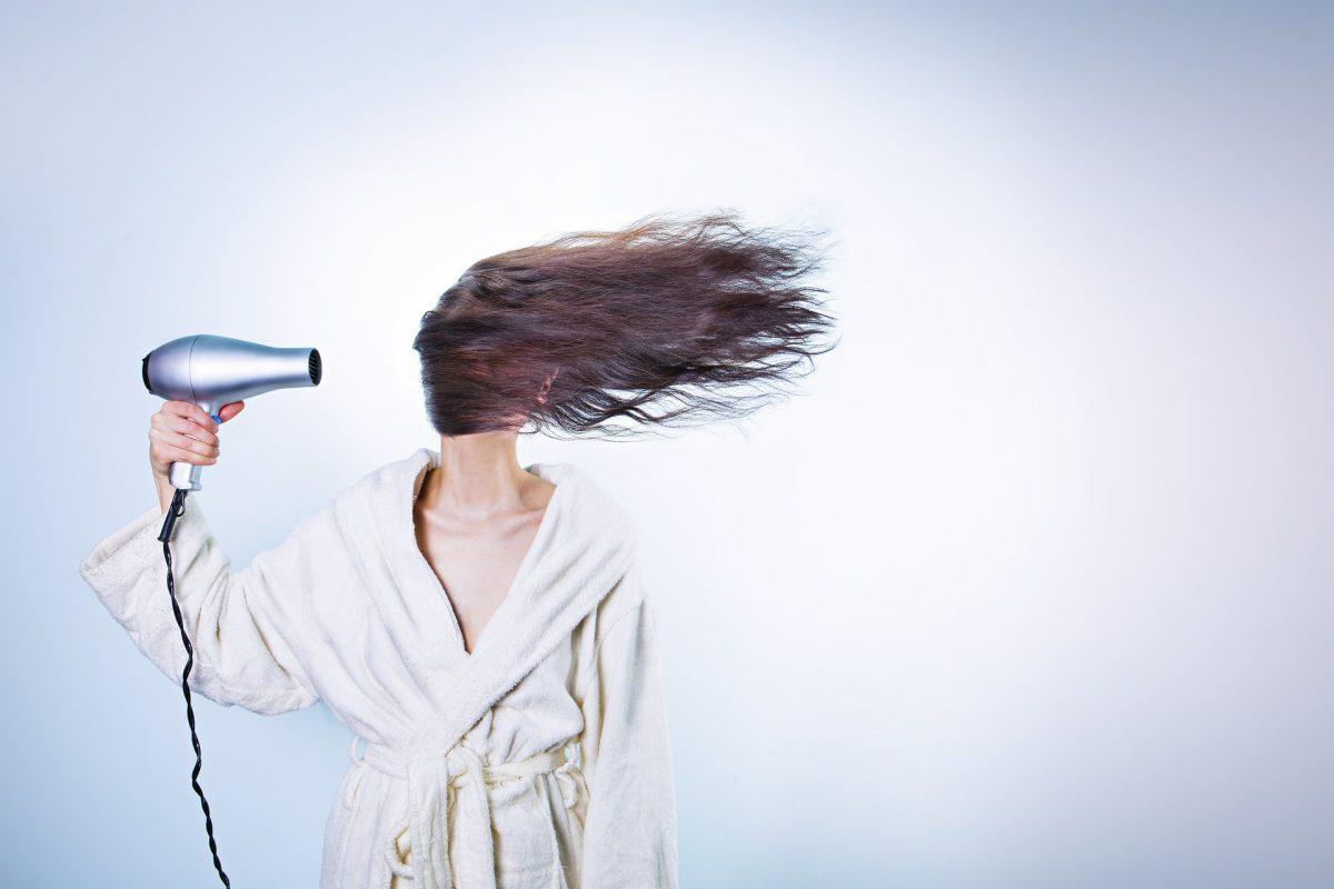 hairdryer beauty hacks