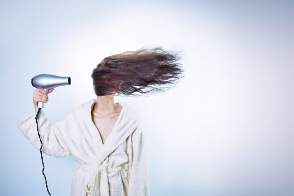 hairdryer beauty hacks