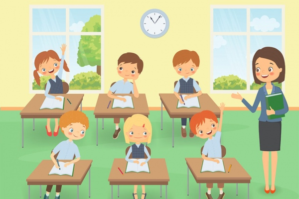 Class room Animation
